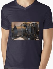 Blur Mens V-Neck T-Shirt