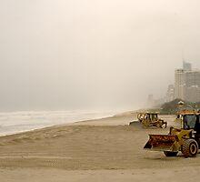 Big boys' beach toys by Murray Swift