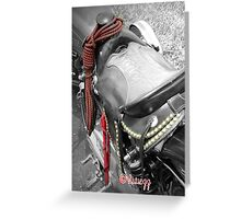 Trick Pony Motorcycle HD Greeting Card