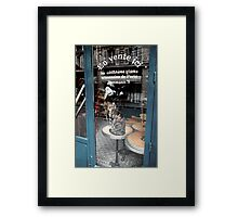 Tous le monde a table! Framed Print