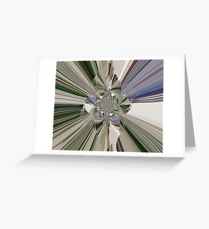 Mirror Shards Greeting Card