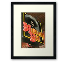 Mariachi Bar  Framed Print