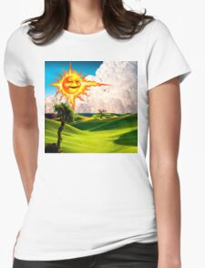 Landscape I Womens Fitted T-Shirt