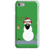 frosty the cool one iPhone Case/Skin