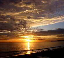 2008 New Years Sunset Summerland CA by Lexi