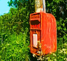 Overgrown Postbox by MarkRPhotos