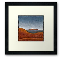 The Olgas from Ayers Rock 01 Framed Print