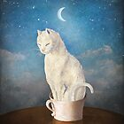 Cat in a Cup by ChristianSchloe