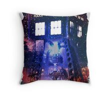 Nebula Public call Box In Space iPhone Case Throw Pillow