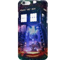 Nebula Public call Box In Space iPhone Case iPhone Case/Skin