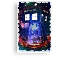 Nebula Public call Box In Space iPhone Case Canvas Print