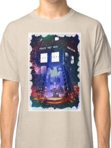 Nebula Public call Box In Space iPhone Case Classic T-Shirt