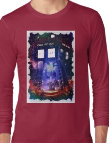 Nebula Public call Box In Space iPhone Case Long Sleeve T-Shirt