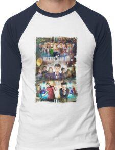 Tardis character T-Shirt Men's Baseball ¾ T-Shirt
