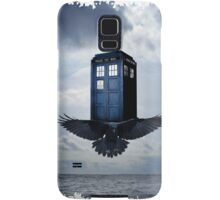 Police Call Box Flying with the Bird iPhone 6 Case Samsung Galaxy Case/Skin