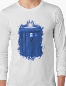 blue Box iPhone 6 plus case Long Sleeve T-Shirt