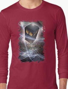 time lord blue box iPhone 6 plus cases Long Sleeve T-Shirt