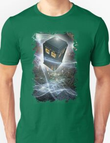 time lord blue box iPhone 6 plus cases T-Shirt