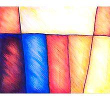 Watercolor Pencil Original Drawing/Painting Photographic Print