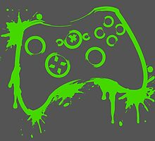 Xbox Controller (Splatter) by WondraBox