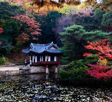 Asian Garden by Bobby McLeod