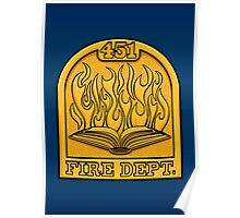 Fire Department 451 Poster