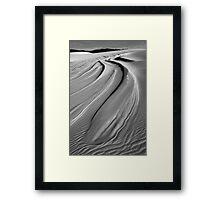 Dunes near Wau Wauka Framed Print
