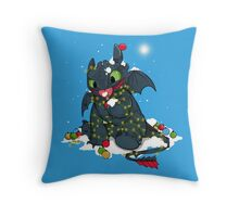 Light Fury Throw Pillow