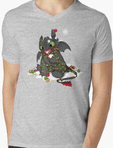 Light Fury Mens V-Neck T-Shirt