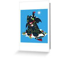 Light Fury Greeting Card