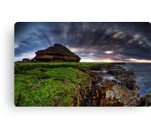 Salad Coast Sunset Canvas Print