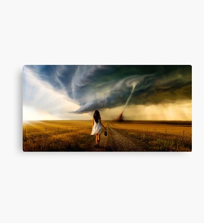 Long Way Home..... Canvas Print