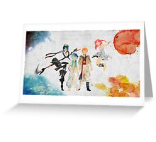 The Protagonists - Magi Greeting Card