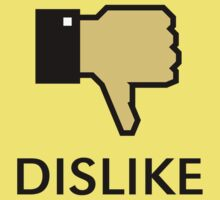 Dislike (Thumb Down) Baby Tee