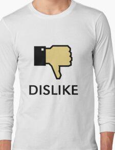 Dislike (Thumb Down) Long Sleeve T-Shirt