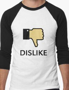 Dislike (Thumb Down) Men's Baseball ¾ T-Shirt