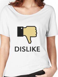 Dislike (Thumb Down) Women's Relaxed Fit T-Shirt