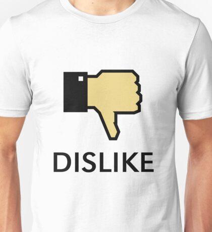 Dislike (Thumb Down) Unisex T-Shirt