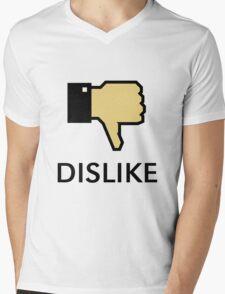 Dislike (Thumb Down) Mens V-Neck T-Shirt