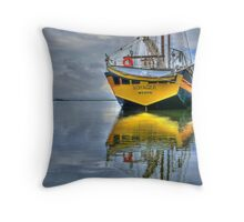The Mystic Voyager Throw Pillow