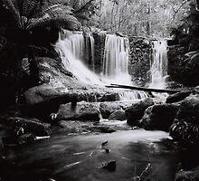 Horseshoe Falls, Mount Field National Park by John  Cuthbertson   www.johncuthbertson.com