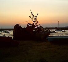 Mersea Sunset by James Stevens
