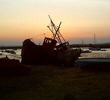 Mersea Sunset by James Stevens