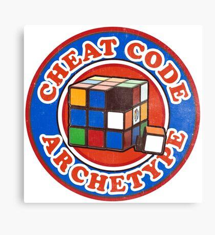 Cheat Code Archetype Canvas Print