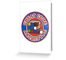 Cheat Code Archetype Greeting Card