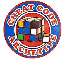 Cheat Code Archetype Photographic Print