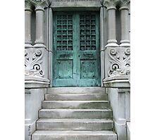 The Green Door Photographic Print