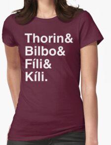 Thorin Oakenshirt Womens Fitted T-Shirt