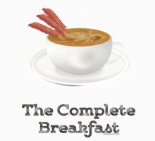 Bacon and Coffee: the Complete Breakfast (light) Baby Tee