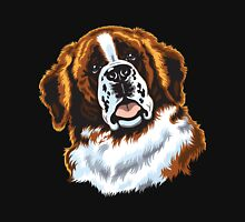 saint bernard head Unisex T-Shirt